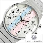 トランスコンチネンツ 腕時計 TRANS CONTINENTS 時計 TAQ-6601-02 メンズ