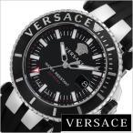 ヴェルサーチ 腕時計 VERSACE 時計 Vレース ダイバー VAK010016 メンズ