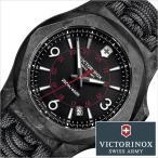 ビクトリノックス スイスアーミー 腕時計 VICTORINOX時計 VICTORINOX腕時計 イノックス カーボン パラコード I.N.O.X. CARBON メンズ ブラック VIC-241776