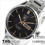タグホイヤー 腕時計 TAG Heuer 時計 カレラ キャリバー5 メンズ ブラック WAR201C-BA0723