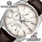 オリエント 腕時計 ORIENT 時計 ロイヤルオリエント メンズ ホワイト WE0021JD