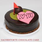 【ザッハトルテ】 愛の極上 ホールインワン チョコレートケーキ 5号 【バレンタイン,ホワイトデー,誕生日,記念日,ギフト,プレゼント,父の日,母の日】