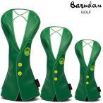 バルダンゴルフ グリーンジャケット ヘッドカバー3Pセット (BDHC0942) DR FW UT ゴルフヘッドカバー セット
