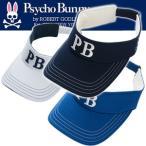 Psycho Bunny/サイコバニー 2018年モデル PB カノコ ゴルフバイザー PHMG802F ( キャップ 帽子 ゴルフ用品 ゴルフ 父の日)
