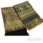 タイシルクのマルチカバー(布) エスニック・アジアンデザインの布 マルチクロス