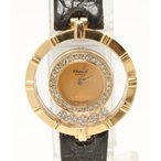 ショパール 腕時計 ハッピーダイヤモンド- 20/5631 クオーツ シャンパン chopard レディース  中古