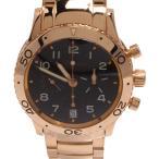 ブレゲ 腕時計 アエロナバル 3800TYPEXX 自動巻き ブラック Breguet メンズ  中古