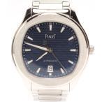 美品 ピアジェ ポロS P11268 GOA41002 自動巻き 腕時計 AT ブルー文字盤 SS PIAGET メンズ  中古