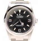 美品 ロレックス 腕時計 エクスプローラー1 114270 自動巻き ブラック ROLEX メンズ  中古