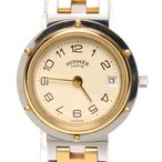 エルメス 腕時計 クリッパー(旧ブレス) クオーツ HERMES レディース  中古