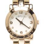 マークバイマークジェイコブス 腕時計 クオーツ ホワイト MBM3057 レディース MARC by MARCJACOBS 中古