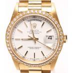 ロレックス 腕時計 デイデイト 18348  W番 自動巻き ホワイト ROLEX メンズ  中古
