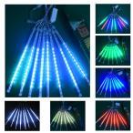 LEDイルミネーションライト スノーフォールライト30cm / 50cm 8本 流れ星 流星 スノードロップライト クリスマス飾り防水屋外対応