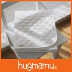 セール5/6まで はぐまむ 敷きパッド 脱脂綿 日本製  ホワイト 保育園 70×120