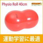 ギムニク バランスボール 40 ピーナッツ フィジオロール  40cm