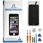 Sintron OEM 液晶パネル LCD - For iPhone SE フロントパネル 黒 4インチ スクリーン 修理パーツ 工具セット