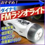 ハンディライト ダイナモFMラジオライト TI-RL201SV 懐中電灯 LED 防災 手動 充電式  ダイナモライト 多機能ラジオライト 携帯充電 防災用 手回し充電器