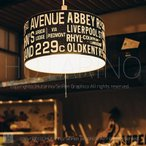 LT-1123 Bus Roll Lamp(バスロールランプ) 電球なし オシャレな照明 北欧デザイン ペンダントライト ワンルーム