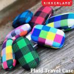 ショッピング携帯小物 Plaid Travel Case プレイドトラベルケース 携帯用 小物入れ ピルケース アクセサリー DETAIL キッカーランド