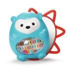 ベビーラトル 歯固め ベビーおもちゃ スキップホップ ハリネズミ ガラガラ 鏡 誕生日プレゼント