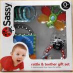 サッシーの新作ギフトセット  可愛いベビーラトル 歯固め 布絵本の詰め合せ おもちゃがいっぱい。出産祝いや贈り物にどうぞ