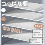 つっぱり伸縮棚 つっぱりだな ツッパリ棚 つっぱり 収納 伸縮棚 取付簡単 アイリスオーヤマ 一人暮らし 収納 新生活 日本語説明書付き キッチン 棚板 スリム