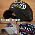 ID CITY アップリケ刺繍 メッシュキャップ メンズ VCR-044 帽子 新品■05170802