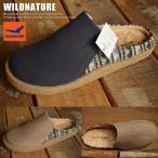 WILD NATURE サボ サンダル メンズ 7950 靴 シューズ 新品 クロッグ NATIVE柄■02170707