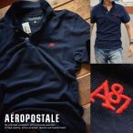 USA購入 エアロポステール ポロシャツ S刺繍 メンズ AEROPOSTALE 6027-4289-404■02170505