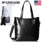 McGREGOR 2WAY ビジネスバッグ メンズ トートバッグ 新品 マックレガー USAブランド正規 55028 ブラック【YI】■05170217