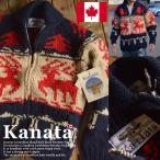 【11%OFF】Kanata カナタ カウチンセーター メンズ レディース ジャケット 鹿 ノルディック■04161015