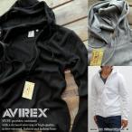 AVIREX ジップアップリブパーカー メンズ メンズ デイリーシリーズ アビレックス アヴィレックス 正規品 6153641 全3色【Y_U】