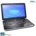 ショッピング中古 中古ノートパソコン Windows7 DELL Latitude E5530 Core i5 3340M メモリ4G マルチ WiFi USB3.0 Bluetooth