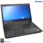ショッピング中古 中古ノートパソコン Windows7 8 64bit レノボ THINKPAD L540 Core i5 4200M メモリ4G HDD500G WiFi マルチ USB3.0 Bluetooth