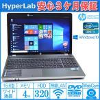 Windows10 64bit 中古ノートパソコン HP ProBook 4530s Core i5 2430M メモリ4GB マルチ WiFi Bluetooth カメラ USB3.0