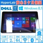 Windows8.1Pro フルHD 10.8インチタブレット DELL VENUE 11 Pro Atom Z3770 1.46GHz メモリ2G eMMC64GB 両面カメラ USB3.0