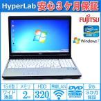 ショッピング中古 中古ノートパソコン 富士通 LIFEBOOK E741/D Core i7 2640M(2.80GHz) メモリ2G マルチ WiFi HDMI テンキー Windows7 64bit