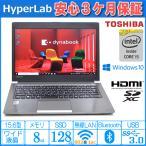 中古パソコン TOSHIBA ノートパソコン モバイル あすつく