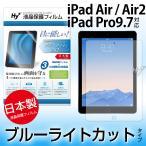 Hy     iPad Air  iPad Air2 アイパッドエアー2 用 ブルーライトカット 液晶保護フィルム 1370005