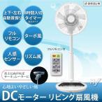 U-ING DCモーターリビング扇風機 ホワイト UF-DHR30J-W (フルリモコン、上下左右自動首振、8時間入/切タイマー付き)