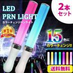 LED ペンライト 15色 コンサート ライト 2本セット ラ