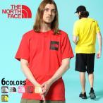 ザ ノースフェイス Tシャツ THE NORTH FACE 綿100% BOXロゴプリント バックロゴ クルーネック 半袖 Tシャツ SS FINE TEE NF00CEQ5
