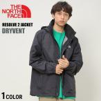 THE NORTH FACE ザ ノースフェイス ナイロン100% 胸ロゴ刺繍 フード付き フルジップ ジャケット RESOLVE 2 JACKET DRYVENT
