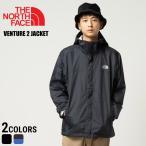 THE NORTH FACE ザ ノースフェイス 胸ロゴ刺繍 フード付き フルジップ ジャケット VENTURE JACKET