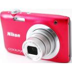 コンデジ 中古 スマホに送れる Nikon ニコン COOLPIX A100 レッド