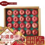 お歳暮 メーカー直送 青森県産 サンふじりんご(5kg) フルーツ 果物 ギフト 贈り物 プレゼント 冬 お取り寄せ 御歳暮