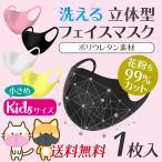 ※お一人様10点限り マスク 入荷 個包装 黒 ピンク 子供用 可愛い 小さめ ウレタンマスク 予防 花粉 風邪 かぜ ウイルス 対策 洗えるマスク