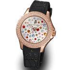ラッキーベル スターリーヘブンズ イタリア腕時計 ピンクゴールド ホワイト