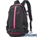 ショッピングユニフォーム ストラップ SPALDINGケイジャー ピンク バスケットボールバッグ バスケ収納カバン スポルディング40-007PK