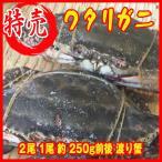お歳暮) 冷凍ワタリガニ 2尾         1尾 約 250g前後 渡り蟹 カニ 蟹